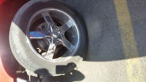 """4 - P285/50R20 Lionhart Tires on U2/55S-A 20"""" Rims"""