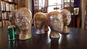 Mannequin heads / wig stands