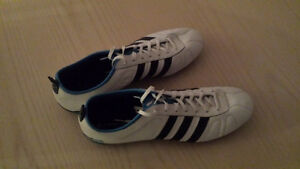 Adidas Cleats (white/blue) brand new