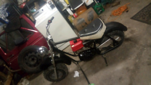 Selling 6HP mini bike with brand name engine