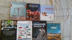 Humber College- Bachelor of Commerce Accounting Textbooks