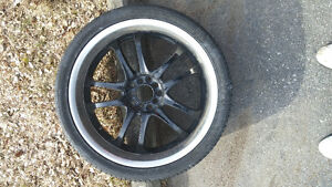 """20"""" MSR rims with tires"""