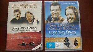 Long Way Round and Long Way Down DVD Series