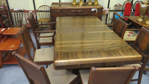 THE WISE SHOP...ANTIQUE TABLES AND CHAIRS