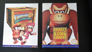 Super nintendo guides pour Donkey Kong Country 1 et 2