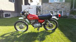 Vintage Original Owner 1980 Yamaha Enduro GT80
