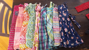 Large lot of girls clothes size 5-6