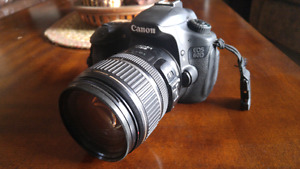 Canon 60d with 17-85mm lens