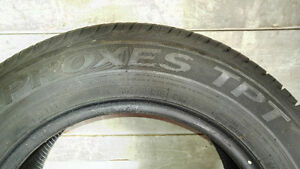 One (1) Summer Tire - Toyo Proxes TPT 195/65R15 West Island Greater Montréal image 4