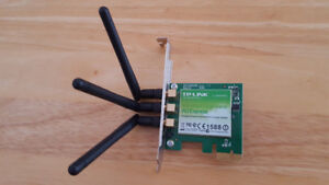 TP-LINK N900 Wireless Dual Band PCI Express Adapter