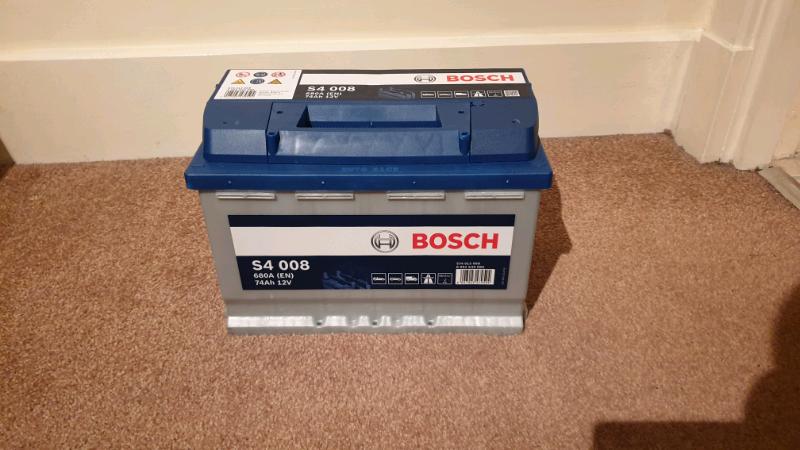 S4 008 Bosch Car Battery 12V 74Ah Type 096 S4008