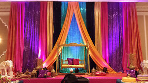 SequinZ specialize in Event Decor call for free consultation.