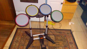 Electronic drum set for playstation