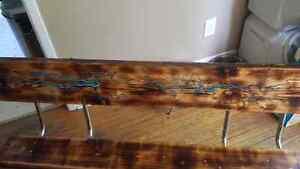 Handmade one of a kind indoor/outdoor retro glow bench London Ontario image 7