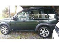 Land Rover freelander breaking