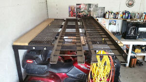 Custom ATV STORAGE RACK