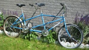 solid  6 speed tandem bicycle