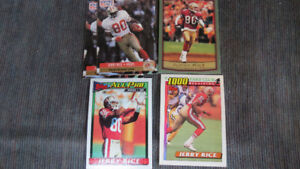 Jerry Rice NFL cards(6)