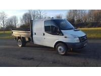 2010 10 PLATE Ford Transit 115 T350 TIPPER PICK-UP
