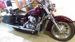 moto Honda shadow 2004 750cc