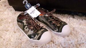 Camo Boys Shoes - size 9 toddler