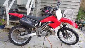 Sell or trade 01cr250r fresh top end for another bike