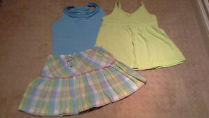 Tank tops and skirt, 4t