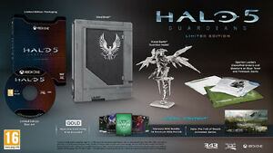 HALO 5 GUARDIANS XBOX ONE LIMITED EDITION NEUF
