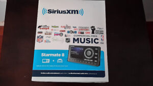 Sirius XM Starmate 8 Satellite radio with vehicle kit
