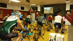 2 Hour indoor cycle training Free Dec 2.