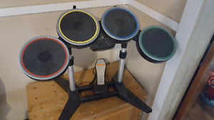 Ps3 rock band drums with pedal