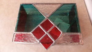 Stained Glass Jewellery Box