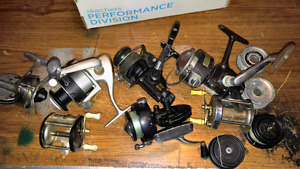 FISHING REELS and spools  10.00 FOR ALL