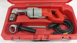 """Milwaukee 1/2 """" Right Angle Drill  for sale with Free 3/4"""" Bit"""