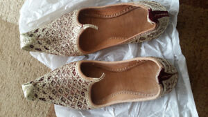 Khussa (Shoes) and Wedding Kula (Turban) Mint Condition.