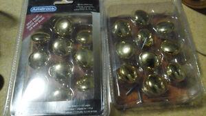 Amerock Brass Cabinet Knobs