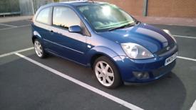 2008 Ford Fiesta blue 1.2 petrol Very low miles