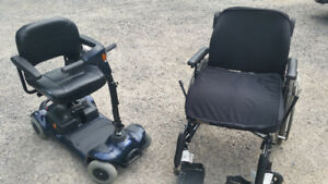 Scooter & wheelchair