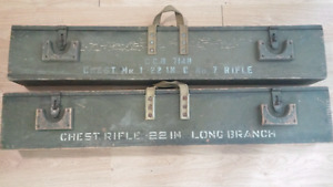 WWII Transit Chests