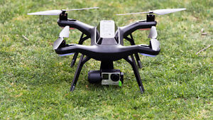 Mint 3DR Solo Drone + Backpack