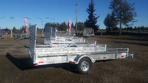 GALVANIEZED HIGH QUALITY BUSHWACKER TRAILERS SOLD DIRECT TO YOU