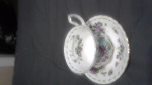Royal Albert cup and saucer March and February