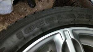 Winter tires and rims Kitchener / Waterloo Kitchener Area image 3