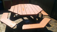 8 Person Octagon Picnic Table