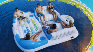6 PERSON TROPICAL TAHITI FLOATING ISLAND NEW PAID OVER $400