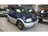 2003 SUZUKI GRAND VITARA SE TD Blue Manual Diesel