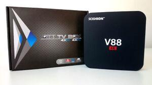 Android 7 4K ★ TV Box HD ★ IPTV ★ Wireless WiFi ★ 8GB ★Quad ★NEW