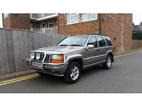 Jeep Grand Cherokee 4.0 Orvis Station Wagon 4x4 5dr GOLD 1998 ONLY 59,000 MILES
