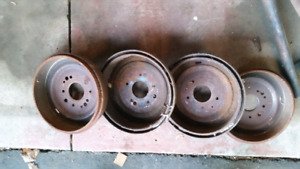 Classic car or truck drums - probably Chevy