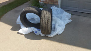 TIRES HIGH PERFO0RMANCE 4 SALE SET OF FOUR